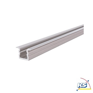 Reprofil LED Profil ET-02-05 hohes T-Profil für 5-5,7mm LED Stripes, 1000mm, Aluminium gebürstet D-975186