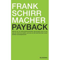 Payback: eBook von Frank Schirrmacher