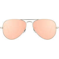 Ray Ban Aviator Flash Lenses RB3025 55mm silver / copper flash