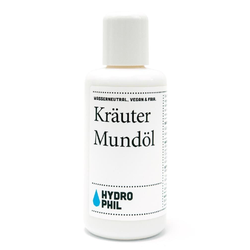 Hydrophil Kräuter Mundöl 100ml