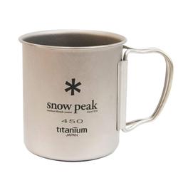 Snow Peak TITANBECHER - Becher - grau