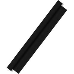 DUNI Dunitex Tischdeckenrolle, Abwischbares Tischtuch, Farbe: schwarz, 1 Karton = 1 Rolle