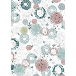 VBS Motivpapier Stars & Dots, 70 cm x 50 cm
