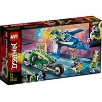 Lego Ninjago Jay und Lloyds Power-Flitzer 71709