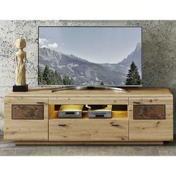 Fernsehboard in Wildeiche Hirnholz Optik 190 cm breit