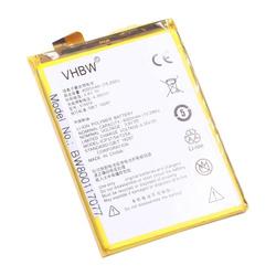 vhbw Li-Polymer Akku 4000mAh (3.8V) passend für Handy Smartphone Telefon ZTE Q519T, Yuanhang 2, Yuanhang 2 TD-LTE
