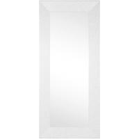 Zurbrüggen Rahmenspiegel Glitty in weiß, 79 x 179 cm