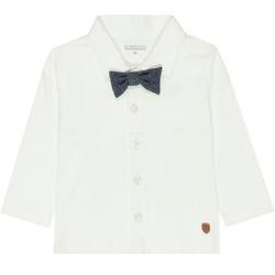 STACCATO Boys Jerseyhemd + Fliege old white