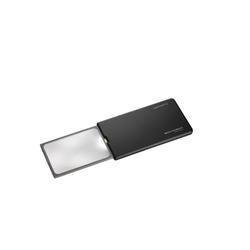 Eschenbach Optik Standlupe Taschenleuchtlupe XL easyPocket schwarz
