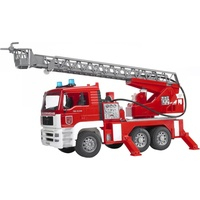 Bruder 02771 - MAN Feuerwehr mit Drehleiter 1:16