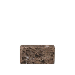BLOMUS Kerzenhalter BLOC Marmor Brown