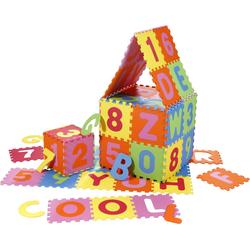 knorr toys - Puzzlematte - Alphabet plus Zahlen 36 tlg 30cm