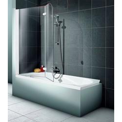 Schulte Badewannenaufsatz 2-teilig, Sicherheitsglas, (2 tlg), BxH: 112 x 140 cm