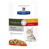 Hill's Prescription Diet Metabolic + Urinary Stress Feline 12 x 85 g