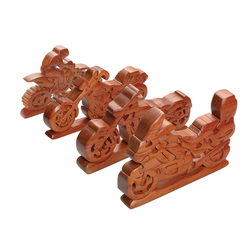 Booster Motorrad Holz Puzzle