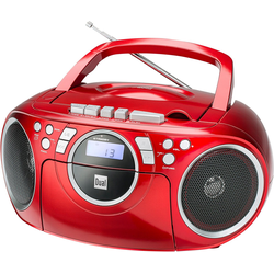 Dual P70 Boombox (FM-Tuner, 3 W) rot