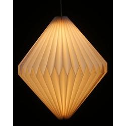 Guru-Shop Deckenleuchten Origami Design Papier Lampenschirm - Modell Ätna