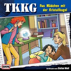 TKKG - Folge 166: Das Mädchen mit der Kristallkugel