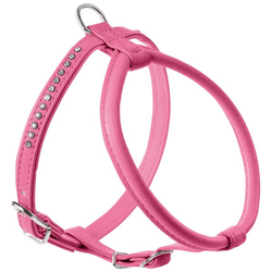 Geschirr Modern Art Round & Soft Petit Luxus pink XS-S