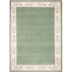 Orientteppich Noblesse Vario 55, OCI DIE TEPPICHMARKE, rechteckig, Höhe 12 mm, handgeknüpft grün 90 cm x 160 cm x 12 mm
