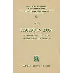 Discord in Zion. Tai Liu  - Buch