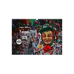 Schwäbisch alemannische Fasnet (Wandkalender 2020 DIN A3 quer)