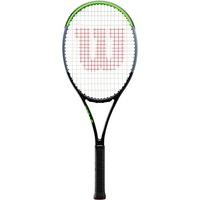 Wilson Blade 101L V7.0, Unisex, Erwachsene, Griffgröße: 4 1/4, Graphit, schwarz/grau/lime, WR022910U2
