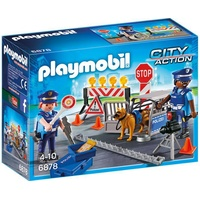 Playmobil City Action Polizei-Straßensperre 6878