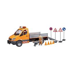 Bruder® Spielzeug-Auto MB Sprinter Kommunal mit Zubehör