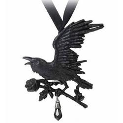 Alchemy Gothic Halsband Halskette Harbinger Rabe