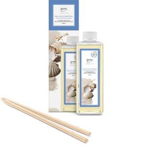Ipuro Raumduft Essentials, 500 ml, Nachfüller, mit Stäbchen, sunny beachtime