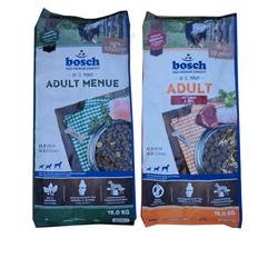 15kg Bosch Adult Menue + 15kg Bosch Adult Lamm & Reis