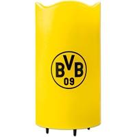 BVB Borussia Dortmund BVB LED-Echtwachskerze Projektor 3V gelb mit Logo
