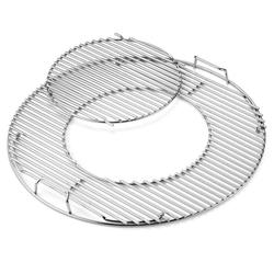 Grillrost-Einsatz - Gourmet BBQ System Edelstahl, für Holzkohlegrill