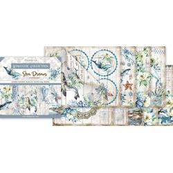 Stamperia Motivpapier Sea Dreams, 10 Bogen, 30,5 cm x 30,5 cm