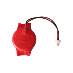 AccuCell AccuCell CMOS Batterie CR2032 mit Stecker, Backup Batterie