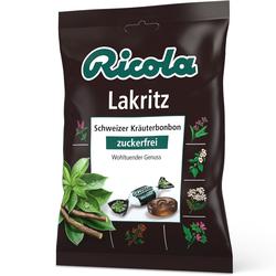 Ricola Lakritz Schweizer Kräuterhbonbon zuckerfrei