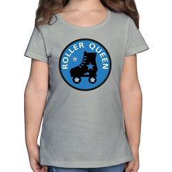 Shirtracer T-Shirt Roller Queen Rollschuh - Vintage - Mädchen Kinder T-Shirt - T-Shirts rollkunstlauf 164 (14/15 Jahre)