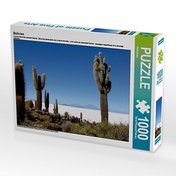 Bolivien Lege-Größe 64 x 48 cm Foto-Puzzle Bild von Rick Astor Puzzle