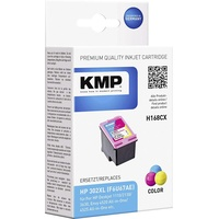KMP H76 kompatibel zu HP 302XL CMY