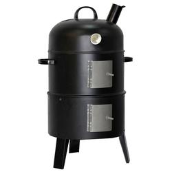 Holz Kohle Garten Grill Räucher Ofen Smoker Party Fleisch Fisch Barbecue Outdoor Harms 504016