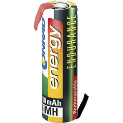 Endurance ZLF Spezial-Akku Mignon (AA) Z-Lötfahne NiMH 1.2V 2000 mAh