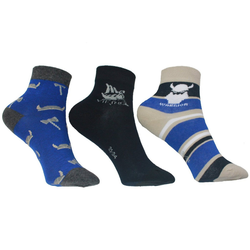 Riese Strümpfe Kurzsocken RS Jungen Strümpfe Socken 3er Pack Kurzschaft (3-Paar) 23-26