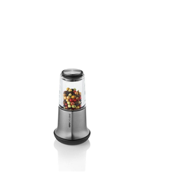 GEFU Salz-/Pfeffermühle X-Plosion S Silber 14 cm