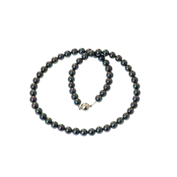 Bella Carina Perlenkette Tahiti Stil, Magnetverschluss 55 cm