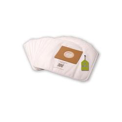 eVendix Staubsaugerbeutel 10 Staubsaugerbeutel passend für Quigg DIV 350, passend für Quigg