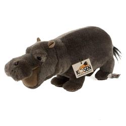Kösen Kuscheltier Nilpferd Hippo 28 cm grau (Plüschnilpferd Stoffnilpferd Stofftiere, Plüschtiere Nilpferde Hippos)