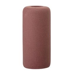 Bloomingville Vase Steingut rot Ø 6 x 13 cm