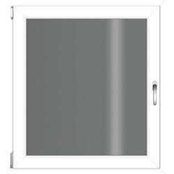 RORO Türen & Fenster Kunststofffenster, BxH: 50x60 cm, ohne Griff