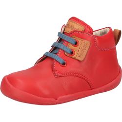 Kickers Lauflernschuh Nappaleder rot Kinder Lauflernschuhe Jungenschuhe Schuhe